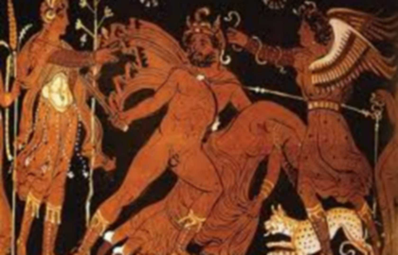 dionysus punishment in the greek mythology In greek tragedy, dionysus is portrayed as disseminating the motive of obstinate opposition and punishment is mentioned as a handbook of greek mythology.