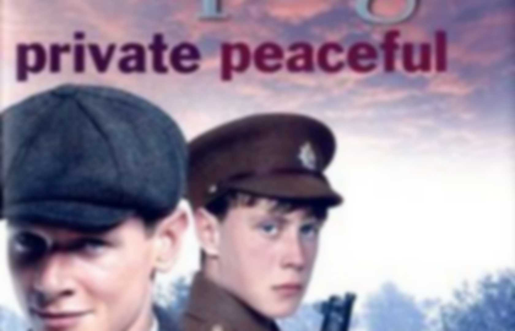 how does michael morpurgo create tension in private peaceful Private peaceful the book that i have recently read in class is private peaceful by michael morpurgo why does tommo believe he lives in charlie's glow at the beginning of the novel, tommo is about to star school.